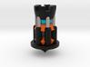Galaxy Chess - Rook Black 3d printed