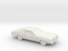 1/87 1972 Mercury Montego MX Coupe 3d printed