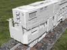 N Scale Alco C-855B Locomotive Shell 3d printed Rear End
