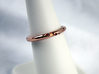 Orbit - Precious Metals 3d printed 14k Rose Gold Plated