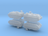 1/350-Scale JGDSF Type 60 APC (4pcs) 3d printed