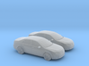 1/120 2X  2010 Ford Fusion SEL 3d printed