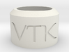 Vertek Single 'Smoke Ring Toy' by Adolist 3d printed