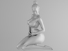 Plump sexy girl 008 Scale in 1/10 3d printed