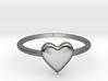 Heart-ring-solid-size-10 3d printed