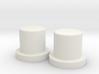 SX350J 2x18650 simple mod - Pushers 3d printed