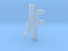 CRISPR RNA Pendant with Bail 3d printed