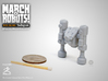 March 31 Robot 3d printed