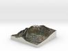 Mont Ventoux 3d Full Color 3d printed