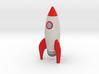 Rocketship 3d printed