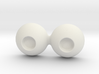 18mm Small Pupil Doll eyes 3d printed