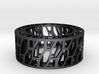 Framework Ring- Intrincate 3d printed