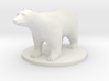 Polar Bear 3d printed