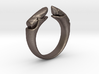 dual stone ring 3d printed