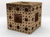 Menger cube 3d printed