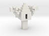 Minecraft 3D Model Treehouse 3d printed