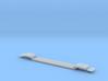 Schnabel Depressed Center Flatcar - Nscale 3d printed