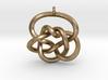 Knot Pendant (Earrings) 3d printed