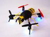 """wasp case"" for the Micro Drone 3.0 3d printed wasp case for Micro Drone 3.0, 3D printed in yellow nylon"