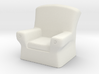 28mm scale Arm Chair  3d printed