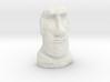 35mm scale Moai Head (Easter Island head) 3d printed