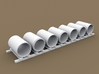 TT Scale Smmps Wagon Concrete Rings Cargo 3d printed TT Scale Smmps Wagon Concrete Rigns Cargo