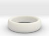 Plain Ring flat inside size11 w 7mm  t 3.2mm  3d printed