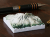 Mt. Rainier, Washington, USA, 1:250000 Explorer 3d printed Photo of the 1:250000 Mt. Rainier, viewed from the South
