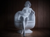1/32 Girl sitting Chair Part of Girl 013 3d printed
