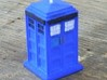 TT Type 40 Mark 1 TARDIS 1/87 Scale 3d printed Photo by Starvihawk slight detailing and window painting done, no decals