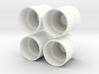 1/64 Dual Rims for Standi 20.8R38 3d printed