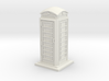 TT Gauge Phone Box 3d printed