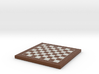 Chess Board 1/12 Scale In Frame 3d printed