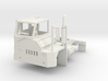 Yard Tractor 1-87 HO Scale RHD White Strong & Flex 3d printed