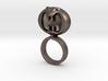 Dark Helmet's ring from Spaceballs Schwartz 3d printed