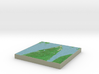 Terrafab generated model Thu Apr 28 2016 17:44:25  3d printed
