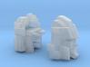Blocky Driller's Head Combiner Tank Version 3d printed