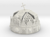 """Hungarian Holy Crown with net - half scale 3d printed 3dprint """"Hungarian Holy Crown with net"""" Material: White Strong & Flexible"""