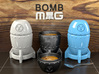 Bomb MUG - Coffee Set 3d printed The images are 3D renders, not photos!
