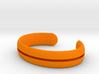 Bracelet01-straight 3d printed