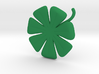 7 Leaf Clover 3d printed A healthy color for your clover