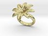 Flowerfantasy Ring 29 - Italian Size 29 3d printed