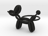 Balloon Dog Ring size 2 3d printed