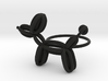 Balloon Dog Ring size 4 3d printed