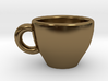 Cappuccino Mug Pendant / Charm (Large) 3d printed