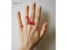 Ballon Girafe Ring size 4 3d printed