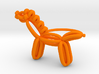 Balloon Horse Ring size 3 3d printed