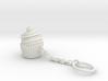 Cupcake Keychain 3d printed