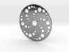 Crop Circle Spiral Pendant 3d printed