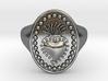 DANTE Ring 3d printed DANTE Ring in 925 sterling silver